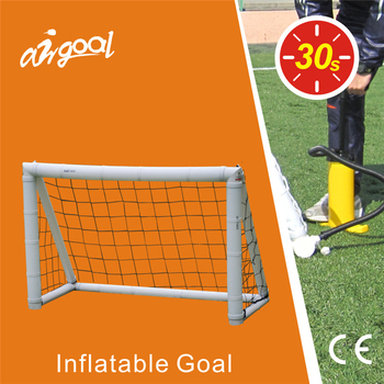 Entertainment activity 3.9*2.6' inflatable soccer goal post