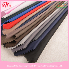 For garment, toy, inner lining polyester garment fabric spandex stretch short pile fleece fabric