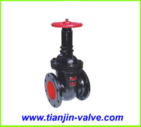 Good quality China valve manufacturer manual non rising stem gate valve