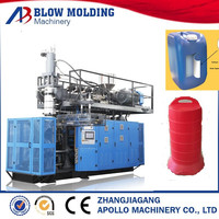 high quality HDPE blow molding machine for blue plastic barrel drums