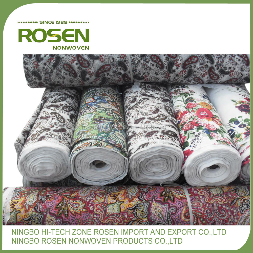 RS NONWOVEN anti-static general use custom print cotton fabric wholesale