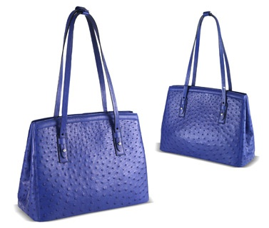 Bluepurple Color Ladies Medium Bags