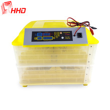 HHD automatic egg turning 96 eggs parrot brooder incubator hatching machine for sale
