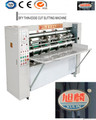High speed thin blade corrugated paper box slitter scorer / thin blade knife slotter / slitting machine