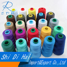 Factory price 100% spun polyester high speed sewing thread 60S/3