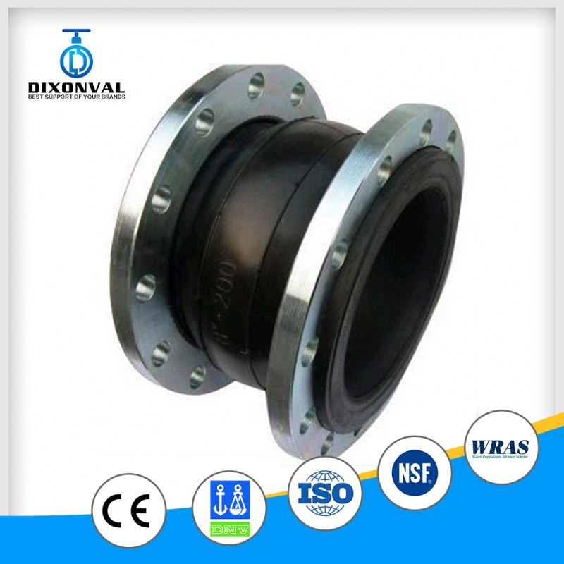 dn200 epdm flanged ends rubber expansion joint
