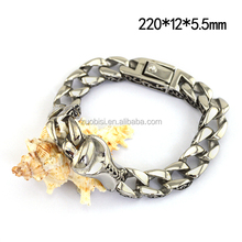 2017 Best Seller Fashion Cool Hand Chain Stainless Steel Bracelet for Man b004617