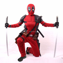 2016 Tv e Filme Deadpool Traje/Halloween Traje Cosplay/Traje Deadpool