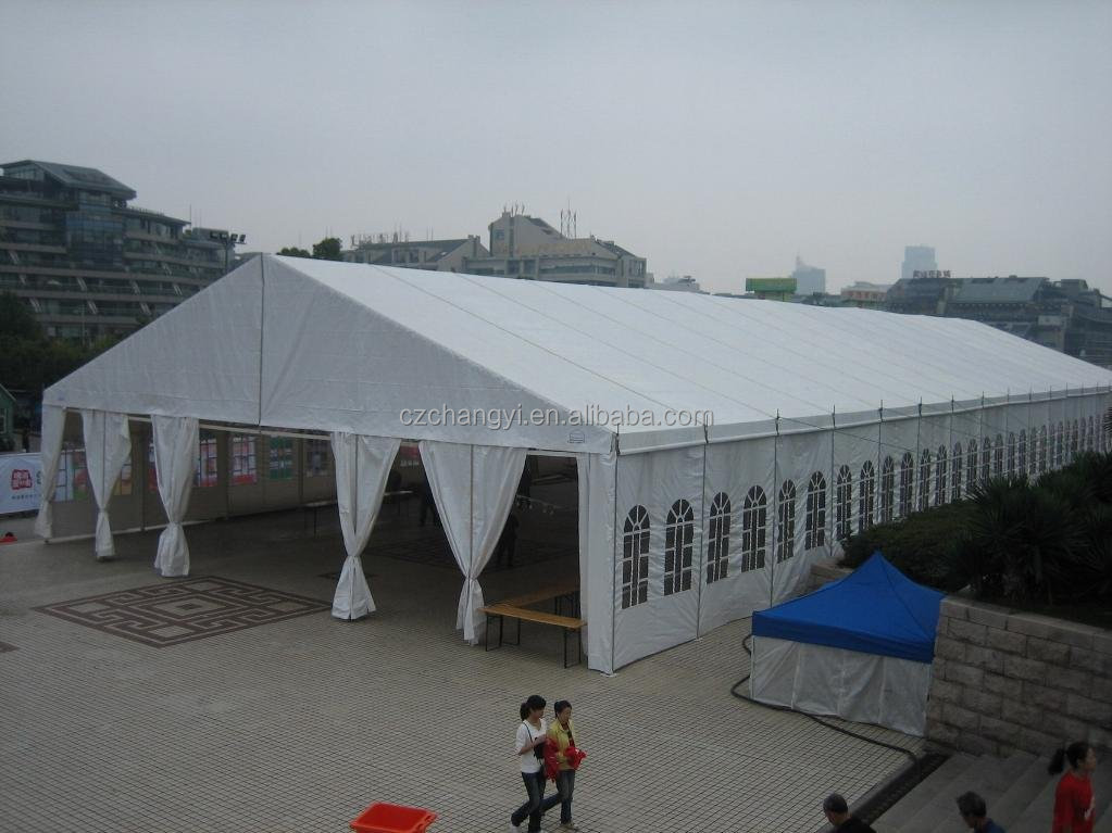 Wedding party event marquee church tent