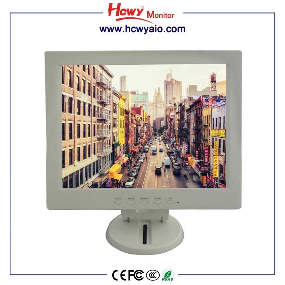cheap white lcd monitor 10inch used lcd monitor desktop computer tft lcd monitor for sale