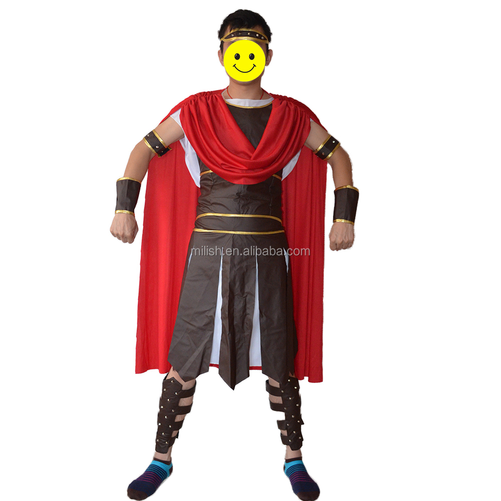 Party carnival medieval roman knight fancy dress costume MAB-111