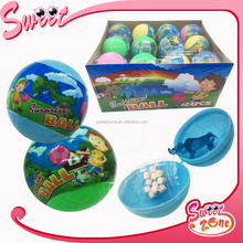 Surprise Egg Football Toy Candy