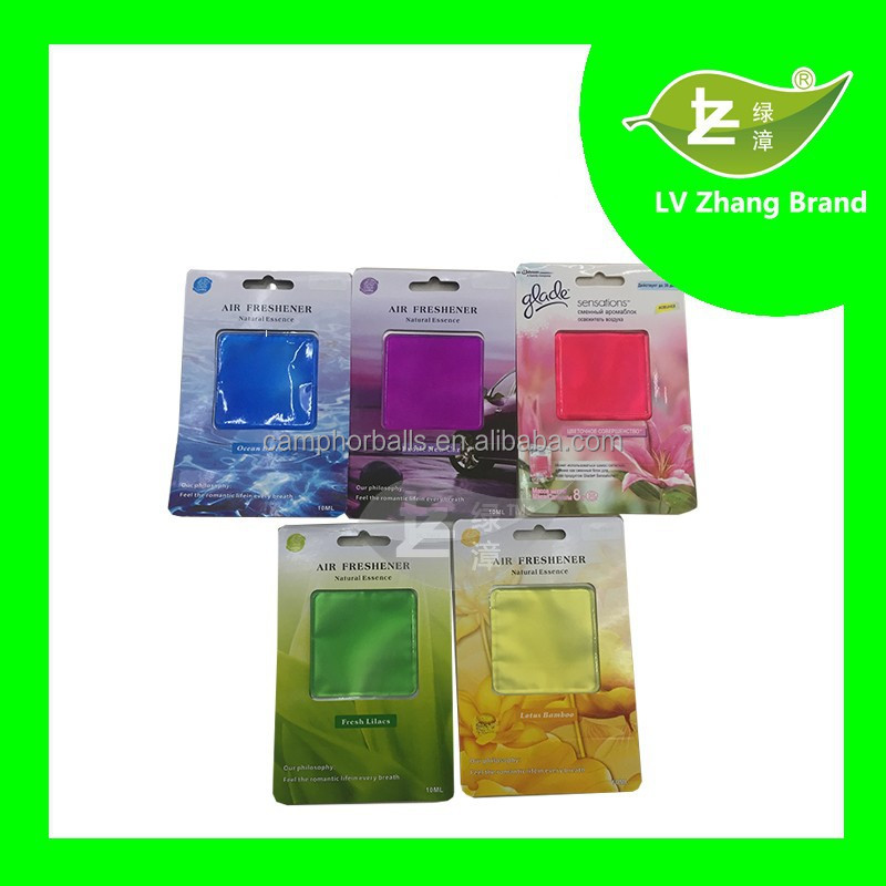 Colorful Gel Car Air Freshener