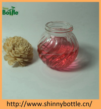 pumpkin shape votive glass candle holders wholesale