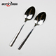 Wholesale 304 stainless steel metal dessert spoon