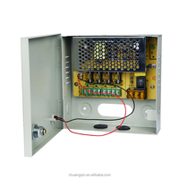 CCTV power supply,12v 5a 60w power supply battery back up 12v 4channel power box system