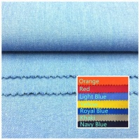 Aramid fabric with flame retardant property
