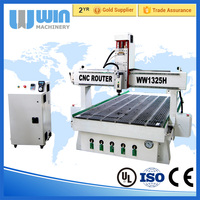 1325 400mm Z Feeding Height 3D CNC Wood Carving Machine