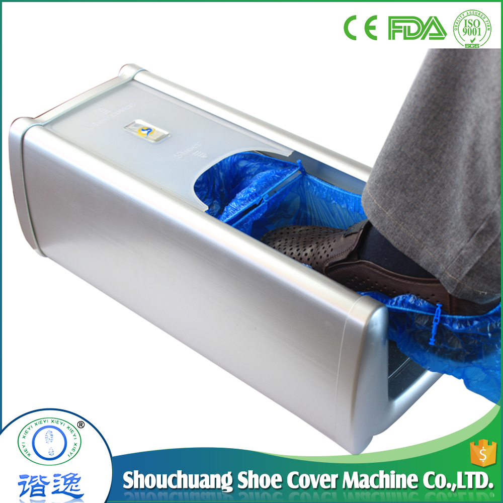 China made Health Care Product Automatic Shoe Cover Dispenser