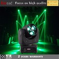 RGBW LED 3x15w bee eye mini moving head light for dj bar