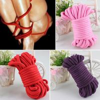 10M se rope bondage toys provocative alternative supplies of cotton rope tied comfortable and harmless for couples