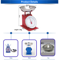 Low Price Supplier For The Mechanical Platform Weighing Scale 30Kg