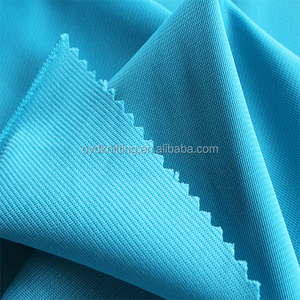 100% Polyester Shiny Sportswear Without Brush Plain Super Poly Fabric
