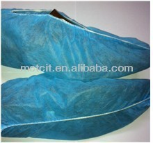 Stitch bond fabric disposable nonwoven shoe cover