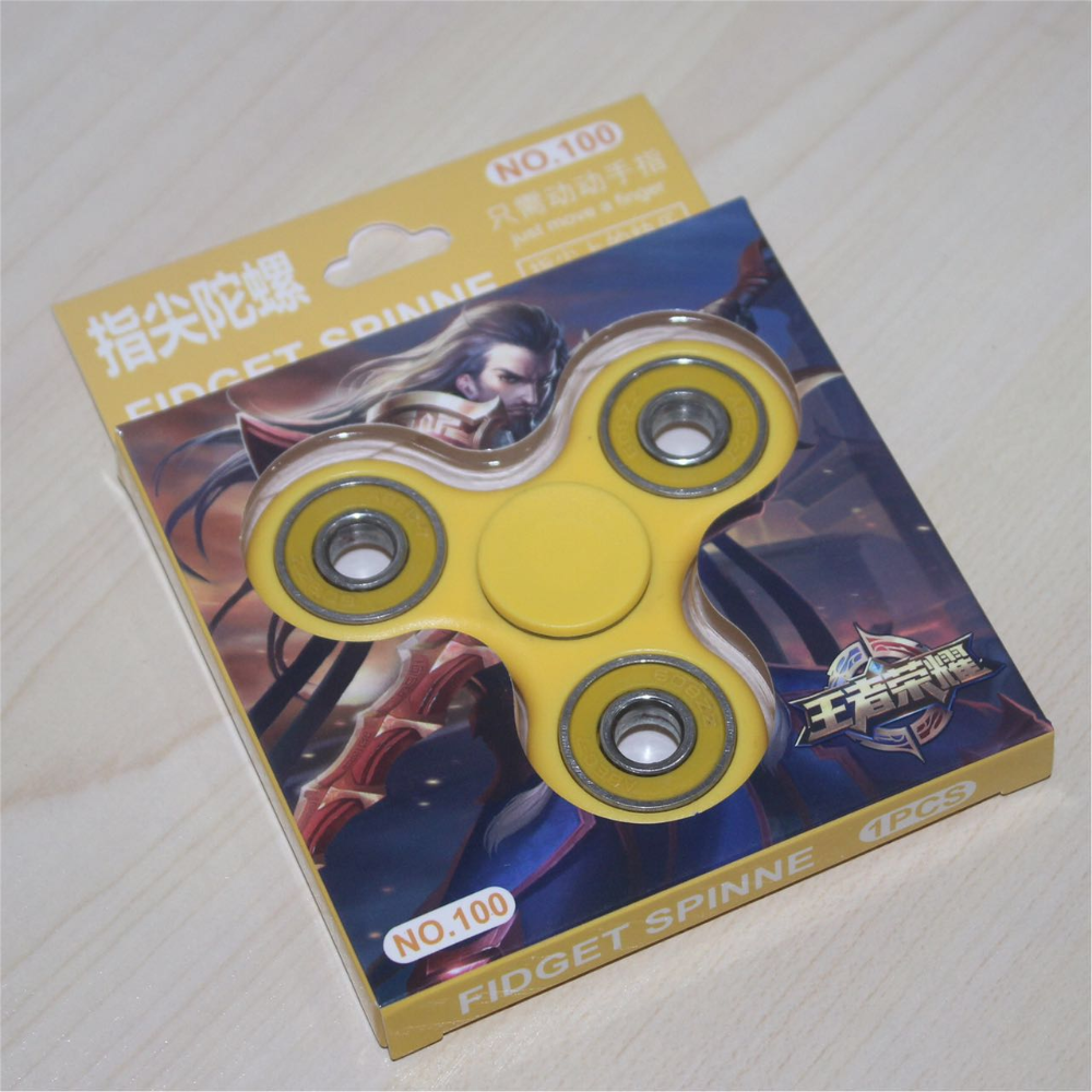 Tri-spinner Fidget Hand Finger Spinner Function Spinning Top Stress Wheel Any-steering Stres Spiner Toys