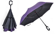 Buy Best Inverted Reverse Opening Umbrella with Hand Free C handle
