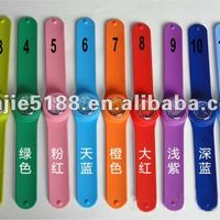 Colorful And Popular Silicone Slap Watch