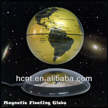 Office 6 inch magnetic levitating globes for gift on online shopping