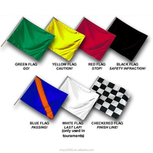 Custom Banners 100d Polyester Fabric Motorcycle Racing Flags Banner Ambulance End of Race Start Race flag two Grommets 3x5 Ft