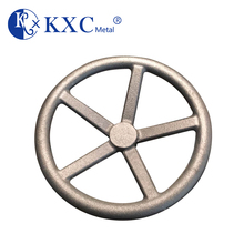 ISO Factory acme threaded spoked cast iron handwheel for valve