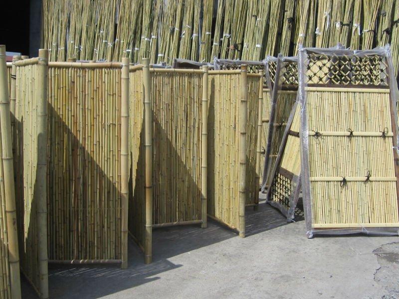 Cloture Bamboo. Interesting Cloture De Jardin En Aluminium With ...