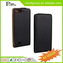 black pvc case waterproof cell phone case with design printing and stander for HUAWEI P6 mini
