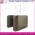 Security system intelligent building turnstile flap barrier with uhf rfid reader