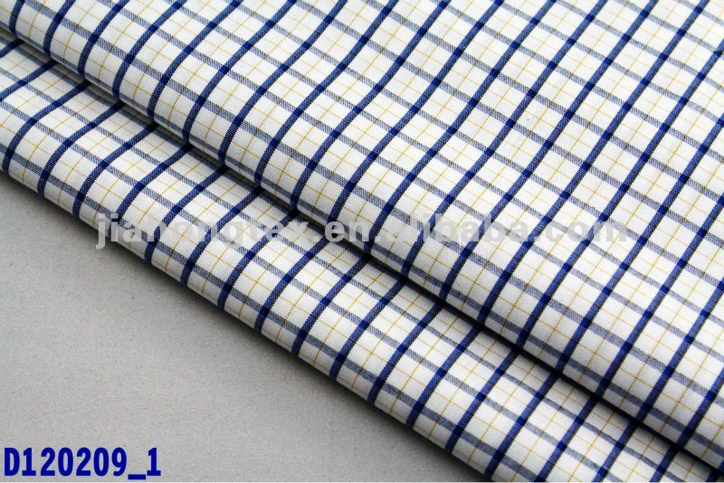 TC yarn dyed fabric:Polyester/Cotton shirt fabric textile