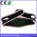 pink adjustable stop snoring chin strap