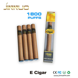 2018 Hot selling 1800 puffs disposable harmless e cigars for wholesale