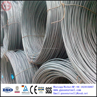 low carbon steel wire rod for production of welding electrode