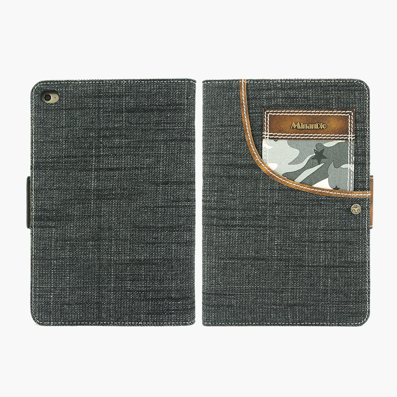 2016 Guangzhou wholesale price denim case for ipad mini 4 case for ipad mini
