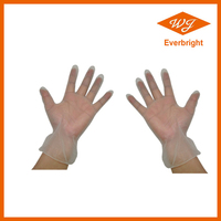 5.0g China wholesalers Powder Free Vinyl gloves , disposable gloves