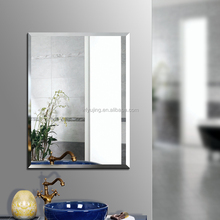 wall decor silver mirror 2/3/4/6mm thickness Silver Mirror with beveled edgeworks for home