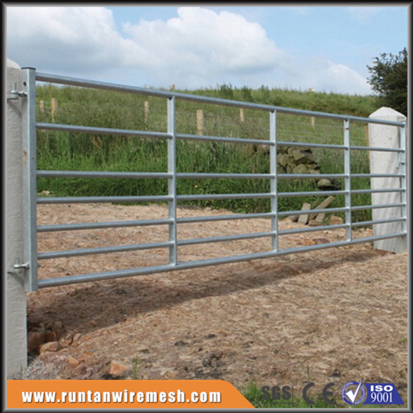 Hot sale galvanized metal farm gates factory iso