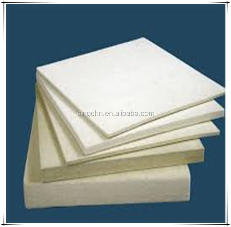 Wool felt 6mm thick white