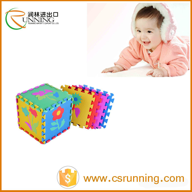 EVA Interlocking Mat Soft Foam Blocks Indoor Playground