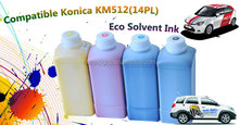 Compatible Konica KM512(14PL) Eco Solvent Ink