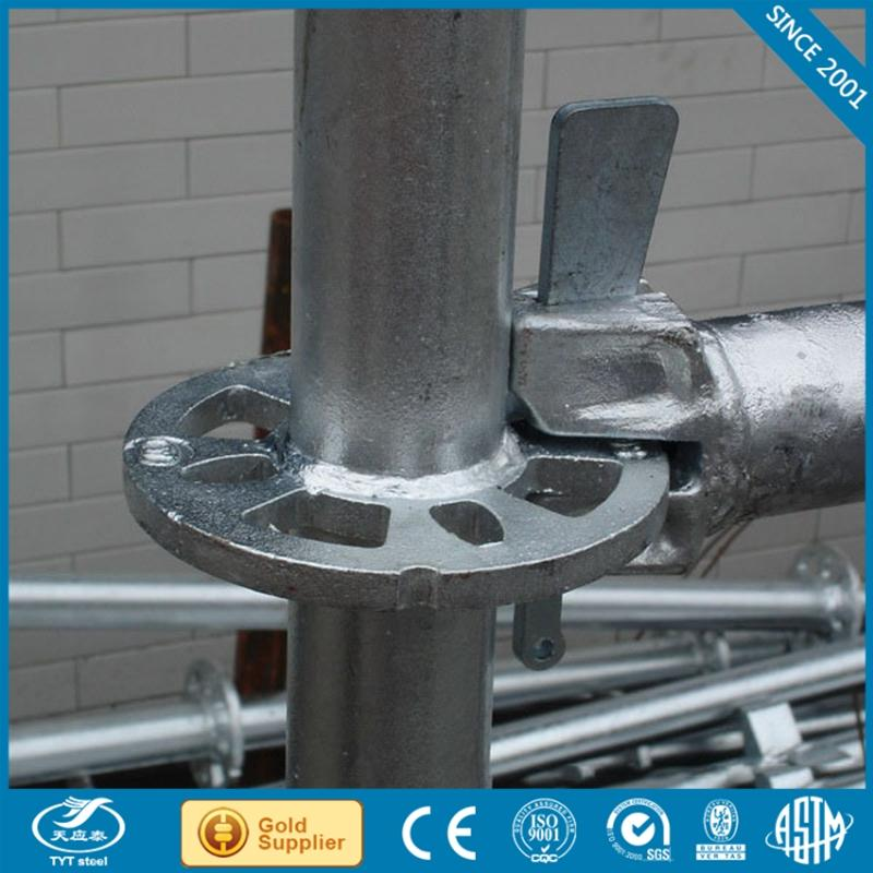 ERW allround scaffold with certificate
