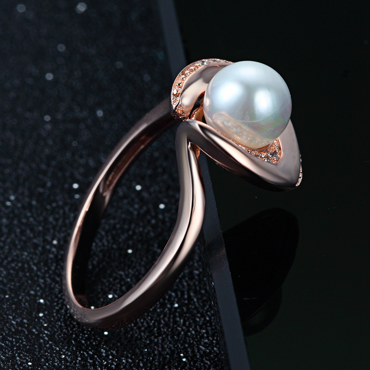 New Design Sterling 925 Silver Pearl Finger Rings For Women